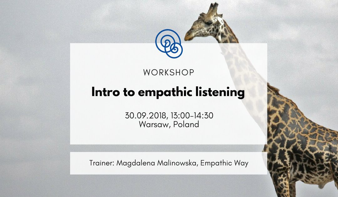 [In English] Intro to empathic listening
