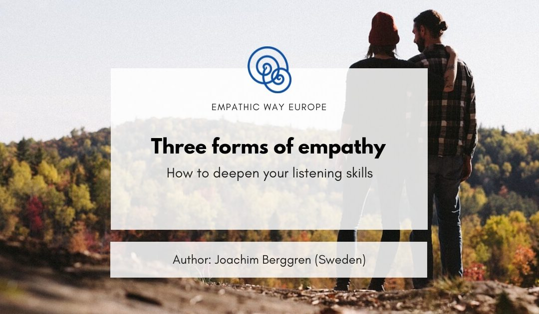 Three forms of empathy