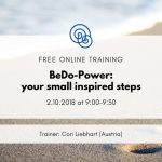 BeDo-Power: your small inspired steps Time for Empathy Project Events Online