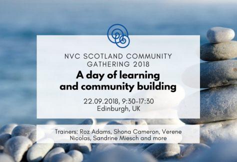 Time for Empathy International project Empathic Way Europe NVC Scotland Community Gathering