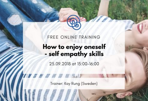 Time for Empathy International project Empathic Way Europe How to enjoy oneself - self empathy skills Kay Rung online