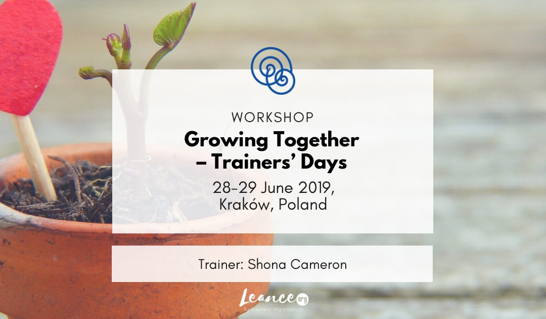 Growing together – trainers' days