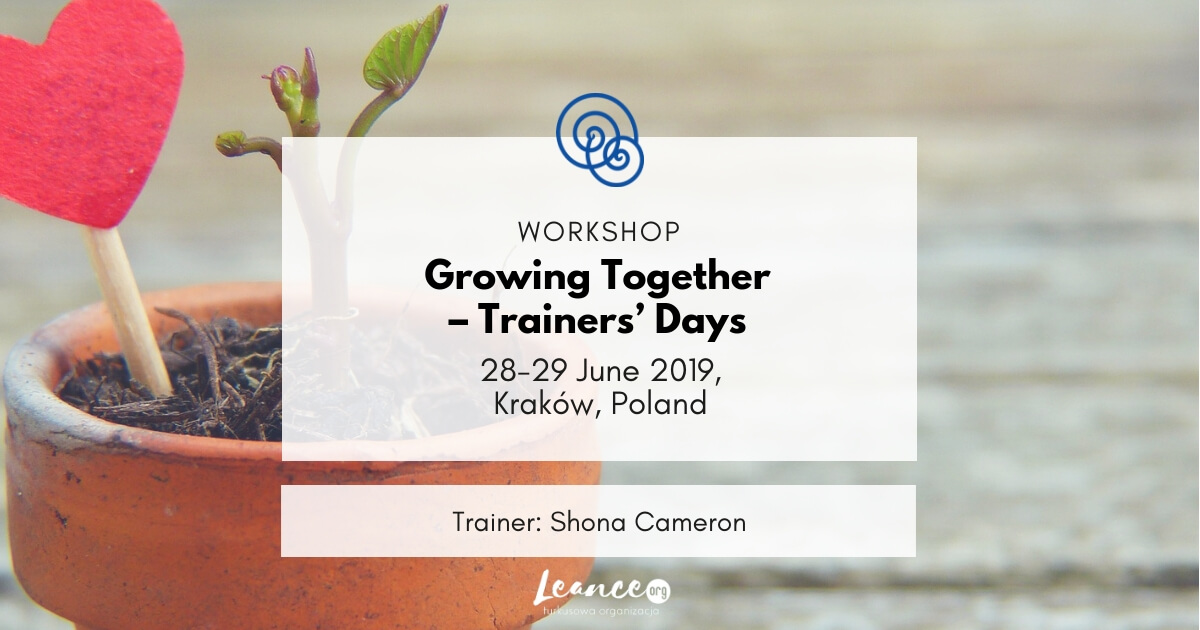 Growing together – trainers' days Empathic Way Europe Leance Shona Cameron