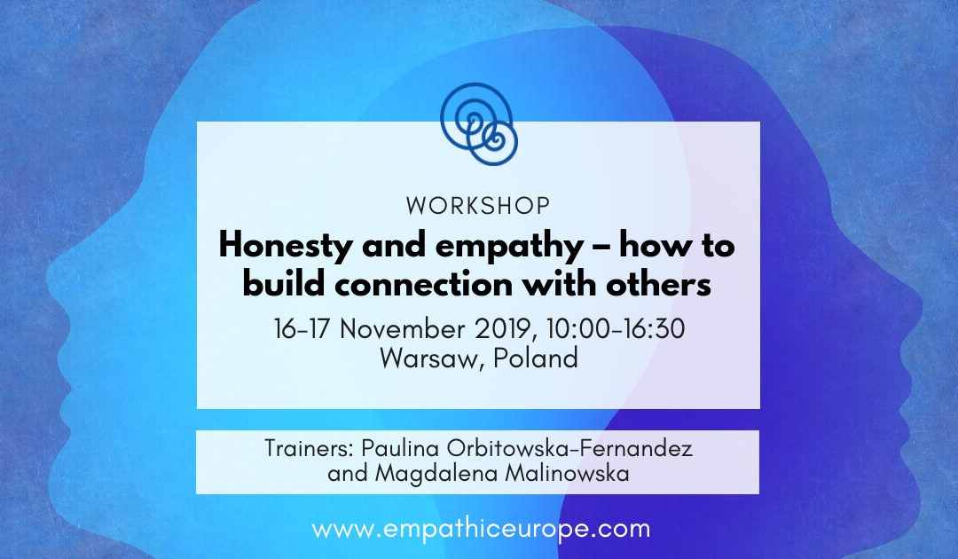 "[In English] Workshop ""Honesty and empathy – how to build connection with others"""