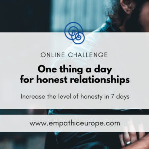 One thing a day for honest relationships NVC Online Challenge Empathic Way Europe Online