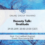 Honesty Talk: Gratitude with Gina Lawrie Time for Honesty Empathic Way Europe
