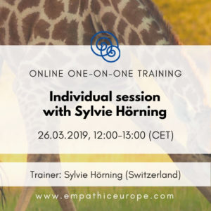 Individual session with Sylvie Hörning