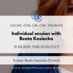 Individual session with Beata Kosiacka Empathic Way Europe