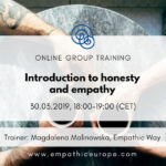 Introduction to honesty and empathy Magdalena Malinowska Time for Honesty Empathic Way Europe