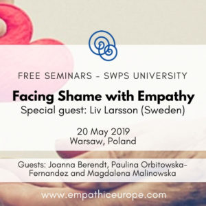 Facing Shame with Empathy SWPS Liv Larsson