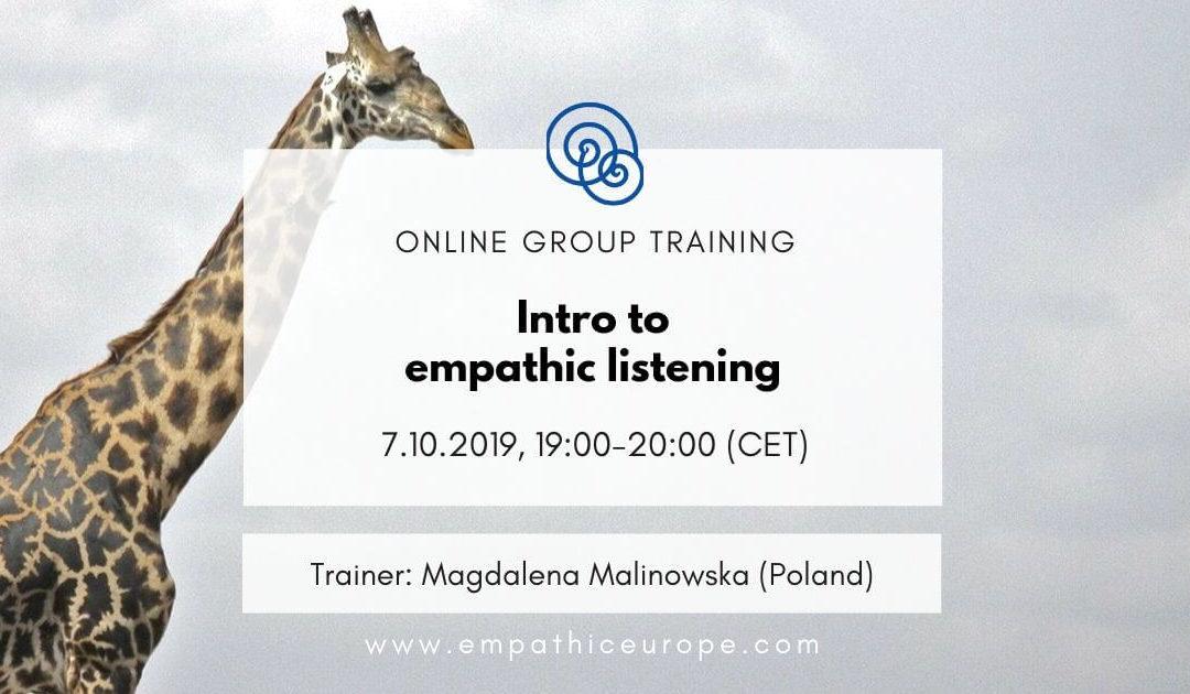 Intro to empathic listening