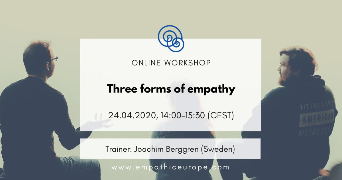 Three forms of empathy