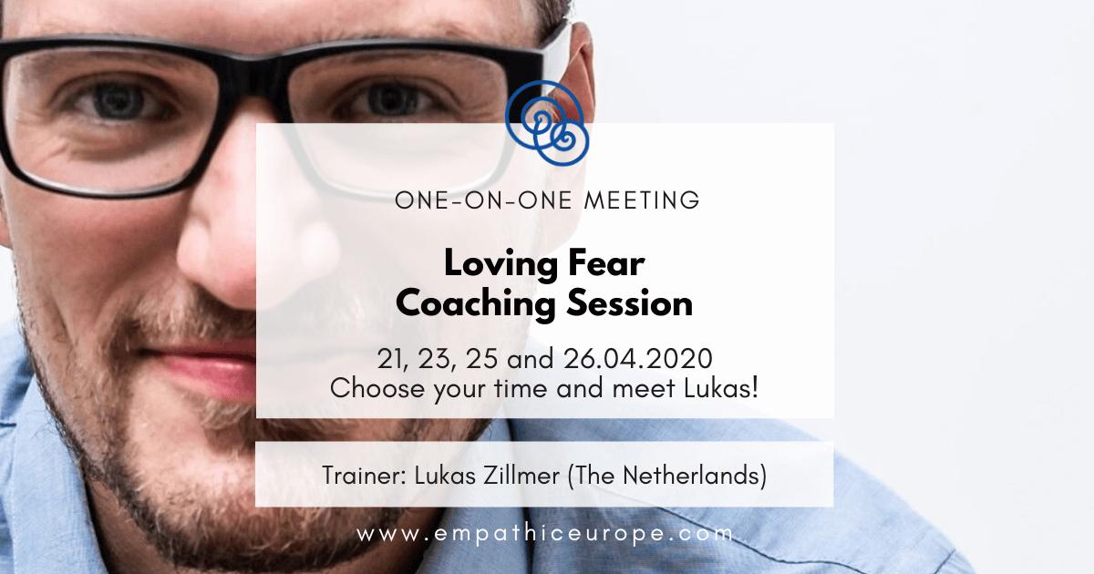 Loving Fear Coaching Session Lukas Zillmer