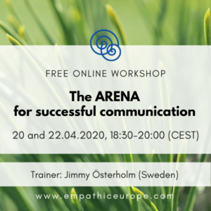 The ARENA for successful communication