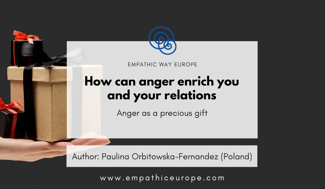 How can anger enrich you and your relations Blog post