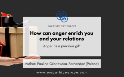 How can anger enrich you and your relations
