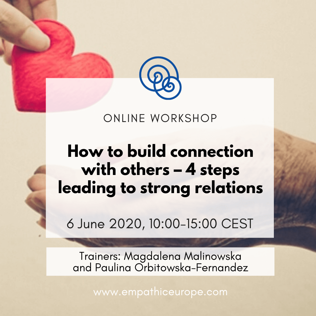How to build connection with others NVC Workshop