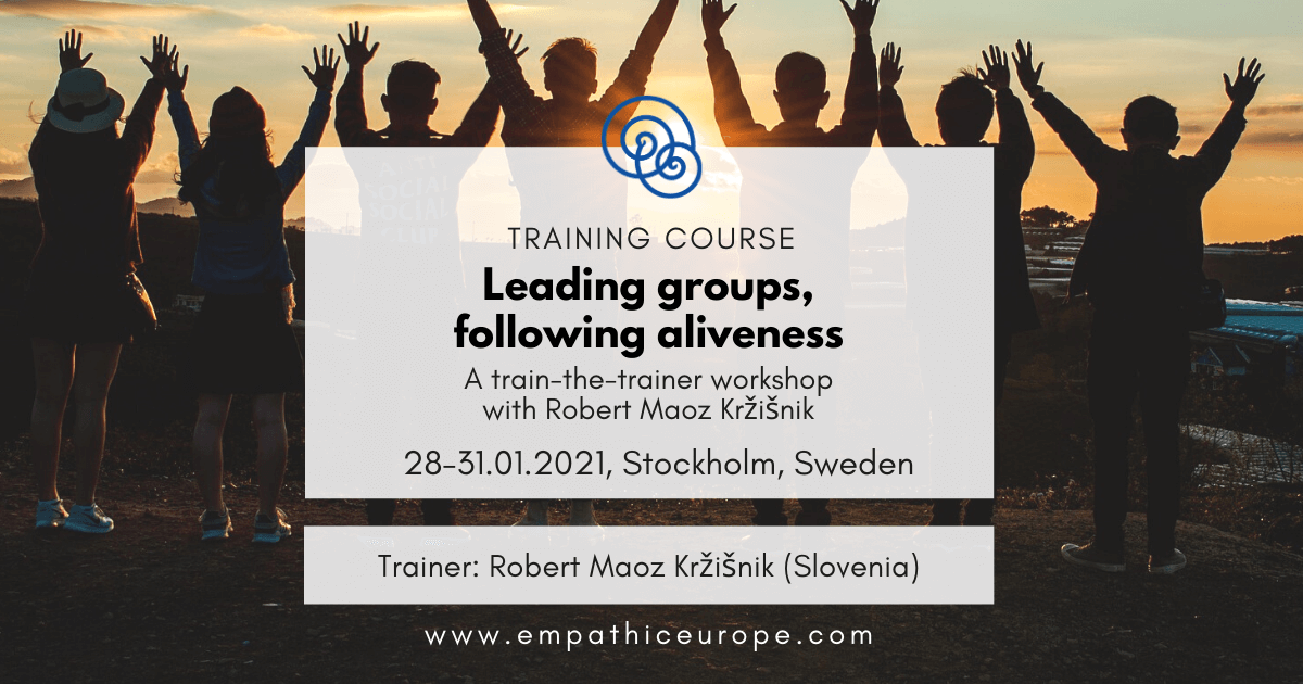 Leading groups, following aliveness