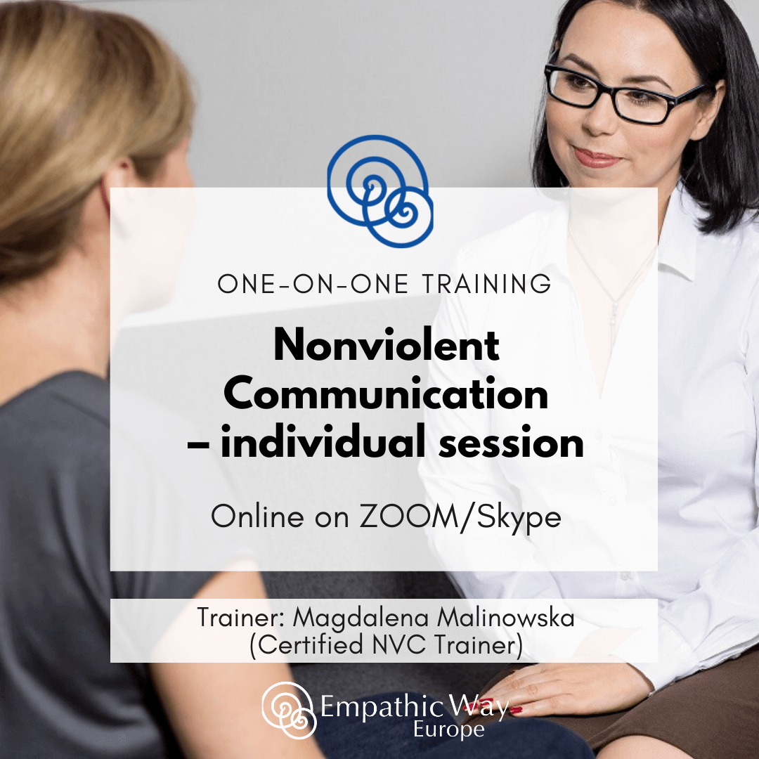 Nonviolent Communication Individual session with Magdalena Malinowska