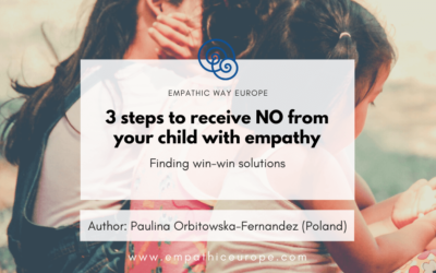 3 steps to receive NO from your child with empathy