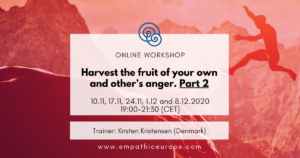 Harvest the fruit of your own and other's anger. Part 2