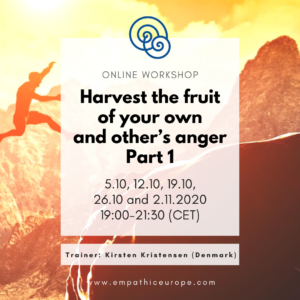 Harvest the fruit of your own and other's anger