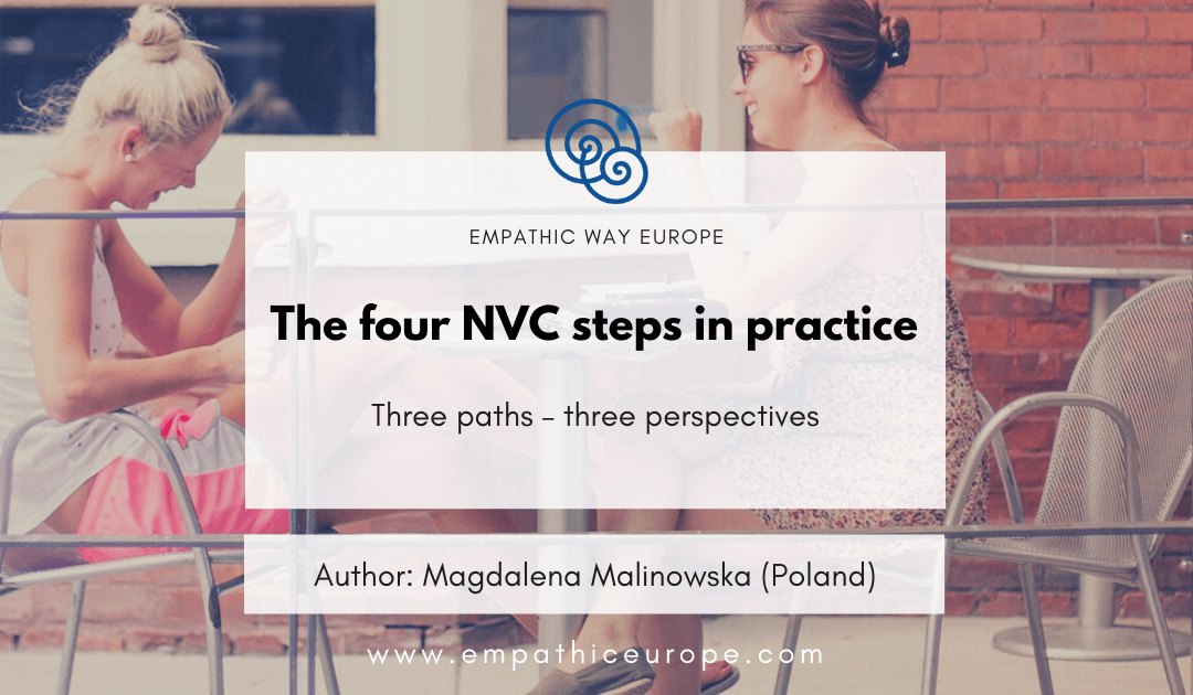 The four NVC steps in practice