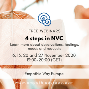 4 steps in NVC Free Webinars Empathic Way Europe