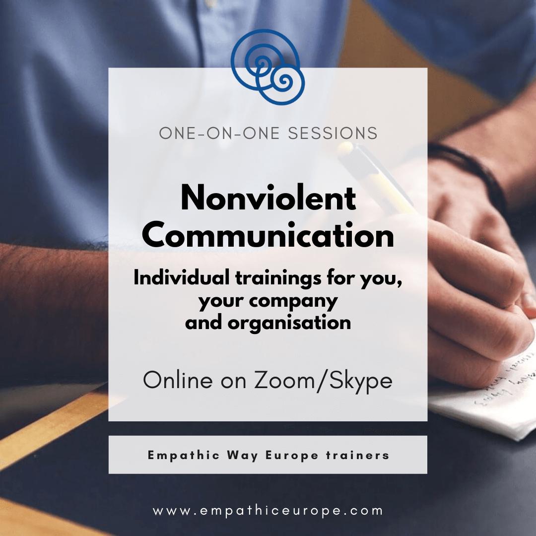 Empathic Way Europe Individual Trainings Nonviolent Communication NVC