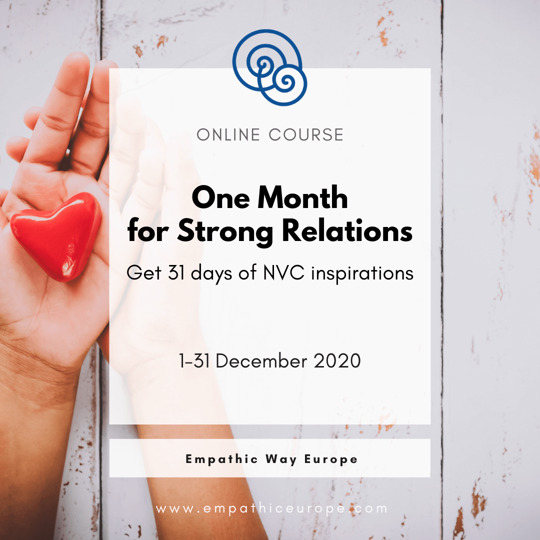 One Month for Strong Relations