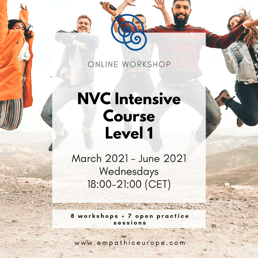 NVC Intensive Course Level 1 Empathic Way Europe
