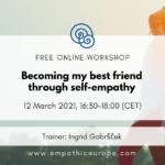 Becoming my best friend through self-empathy