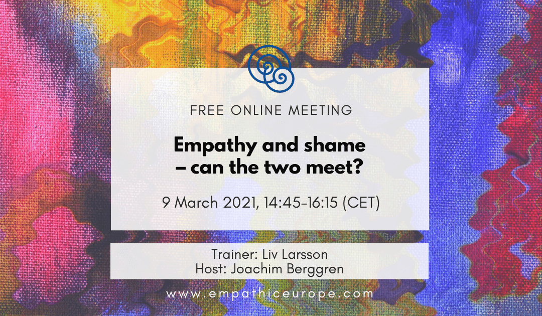 Empathy and shame – can the two meet?