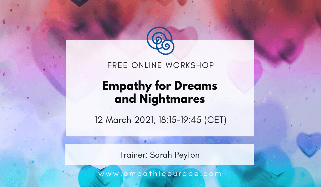 Empathy for Dreams and Nightmares