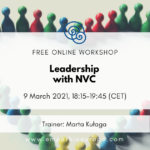 Leadership with NVC Marta Kułaga