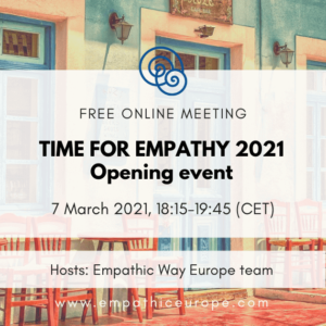 Time for Empathy – Opening event