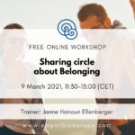 Sharing circle about Belonging