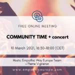 Community Time + concert