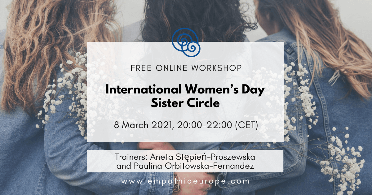 """International Women's Day Sister Circle """"Transforming ourselves, transforming the world"""""""