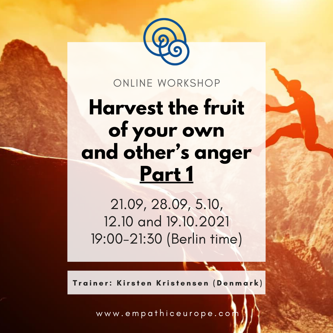 Kirsten Kristensen Harvest the fruit of your own and other's anger